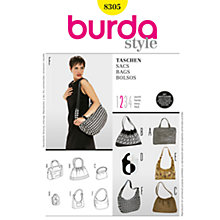 Buy Simplicity Burda Bag Sewing Pattern, B8305 Online at johnlewis.com