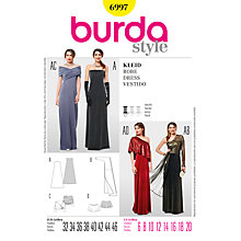 Buy Simplicity Burda Special Occasion Dress Sewing Pattern, B6997 Online at johnlewis.com