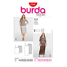 Buy Simplicity Burda Plus Sizes Skirt Sewing Pattern, B7241 Online at johnlewis.com