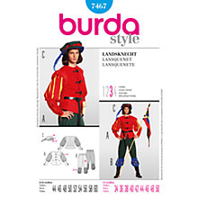 Buy Simplicity Burda Men's Costume Sewing Pattern, B7467 Online at johnlewis.com
