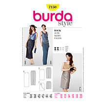Buy Simplicity Burda Special Occasion Skirt Sewing Pattern, B7150 Online at johnlewis.com