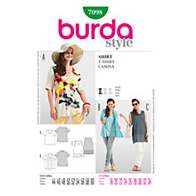 Buy Simplicity Burda Plus Sizes Tops Sewing Pattern, B7098 Online at johnlewis.com
