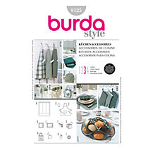 Buy Simplicity Burda Kitchen Accessories Sewing Pattern, B8125 Online at johnlewis.com