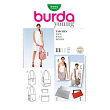 Buy Simplicity Burda Bags Sewing Pattern, B7223 Online at johnlewis.com