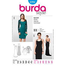 Buy Simplicity Burda Special Occasion Dress Sewing Pattern, B6994 Online at johnlewis.com