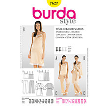Buy Simplicity Burda Lingerie Ensembles Sewing Pattern, 7627 Online at johnlewis.com
