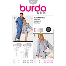 Buy Simplicity Burda Lingerie Pyjama Sewing Pattern, 2691 Online at johnlewis.com