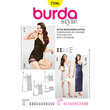 Buy Simplicity Burda Womens' Sleepwear Sewing Pattern, B7186 Online at johnlewis.com