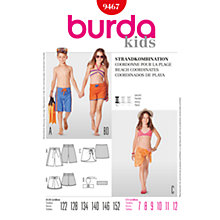 Buy Simplicity Burda Children Beach Co-ordinates, B9467 Online at johnlewis.com