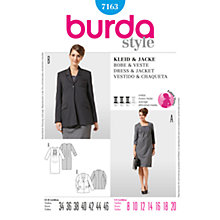 Buy Simplicity Burda Maternity Dress & Jacket Sewing Pattern, 7163 Online at johnlewis.com