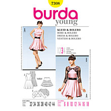 Buy Simplicity Burda Special Occasion Bolero & Skirt Sewing Pattern, 7308 Online at johnlewis.com