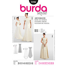 Buy Simplicity Burda Special Occasion Evening Dress Sewing Pattern, 7090 Online at johnlewis.com