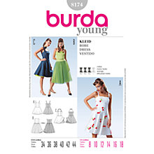 Buy Simplicity Burda Special Occasion Dress Sewing Pattern, 8174 Online at johnlewis.com