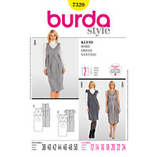 Buy Simplicity Burda Maternity Dress Sewing Pattern, 7320 Online at johnlewis.com
