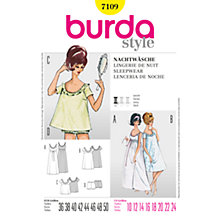 Buy Simplicity Burda Womens' Sleepwear Sewing Pattern, B7109 Online at johnlewis.com