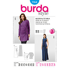 Buy Simplicity Burda Maternity Dress & Tunic Sewing Pattern, 7164 Online at johnlewis.com