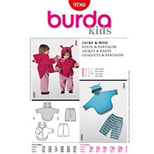Buy Simplicity Burda Children Jacket and Trousers Sewing Pattern, B9780 Online at johnlewis.com