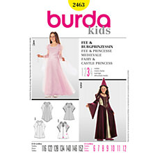Buy Simplicity Burda Children Fairy and Princess Costumes Sewing Pattern, B2463 Online at johnlewis.com