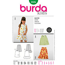 Buy Simplicity Burda Children Dresses Sewing Pattern, B3026 Online at johnlewis.com