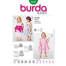 Buy Burda Children Sundresses Sewing Pattern, B9459 Online at johnlewis.com
