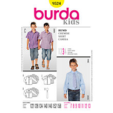 Buy Simplicity Burda Children Boys' Shirts Sewing Pattern, B9524 Online at johnlewis.com