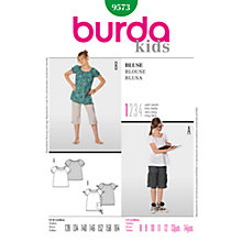 Buy Simplicity Burda Children Blouse Sewing Pattern, B9573 Online at johnlewis.com