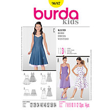 Buy Simplicity Burda Children's Dress Sewing Pattern, 9697 Online at johnlewis.com
