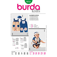Buy Simplicity Burda Children's Coordinates Sewing Pattern, 9711 Online at johnlewis.com