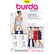 Buy Simplicity Burda Children's Dress & Trousers Sewing Pattern, 9694 Online at johnlewis.com
