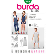 Buy Simplicity Burda Children Overalls Sewing Pattern, B9464 Online at johnlewis.com