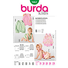 Buy Simplicity Burda Children Co-ordinates Sewing Pattern, B9462 Online at johnlewis.com