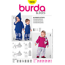 Buy Simplicity Burda Children Co-ordinates Sewing Pattern, B9450 Online at johnlewis.com