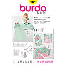 Buy Simplicity Burda Children Infant Accessories Sewing Pattern, B9479 Online at johnlewis.com