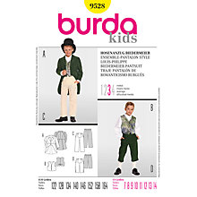 Buy Simplicity Burda Children Trouser Suit Sewing Pattern, B9528 Online at johnlewis.com