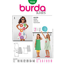 Buy Simplicity Burda Children Dress Sewing Pattern, B9544 Online at johnlewis.com