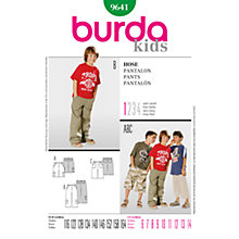 Buy Simplicity Burda Children Trousers Sewing Pattern, B9641 Online at johnlewis.com