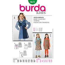 Buy Simplicity Burda Children's Jumper Sewing Pattern, 9675 Online at johnlewis.com