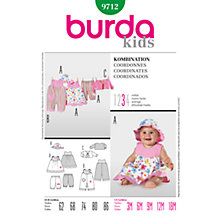 Buy Simplicity Burda Children's Coordinates Sewing Pattern, 9712 Online at johnlewis.com