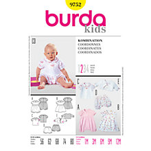 Buy Simplicity Burda Children's Coordinates Sewing Pattern, 9752 Online at johnlewis.com