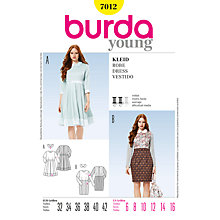 Buy Simplicity Burda Dresses Sewing Pattern, B7012 Online at johnlewis.com