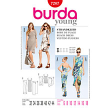 Buy Simplicity Burda Beach Dresses Sewing Pattern, B7207 Online at johnlewis.com