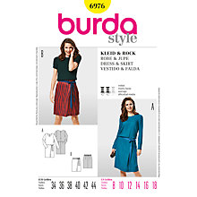 Buy Simplicity Burda Dresses Sewing Pattern, B6976 Online at johnlewis.com