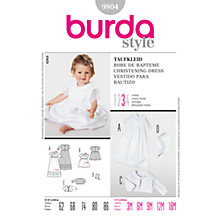 Buy Simplicity Burda Baby Christening Gown Sewing Pattern, B9804 Online at johnlewis.com
