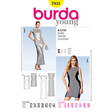 Buy Simplicity Burda Evening Dresses Sewing Pattern, B7053 Online at johnlewis.com