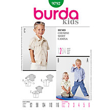 Buy Simplicity Burda Children's Shirt Sewing Pattern, B9792 Online at johnlewis.com