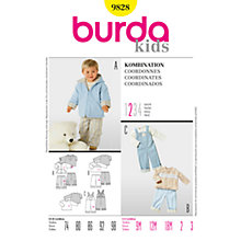 Buy Simplicity Burda Children's Coordinates Sewing Pattern, B9828 Online at johnlewis.com