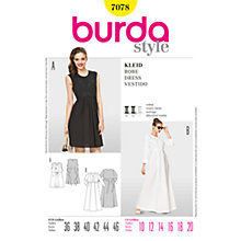 Buy Simplicity Burda Short & Long Dresses Sewing Pattern, B7078 Online at johnlewis.com