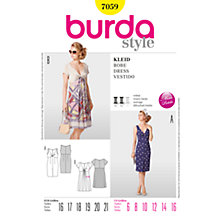 Buy Simplicity Burda Twist Bodice Dresses Sewing Pattern, B7059 Online at johnlewis.com