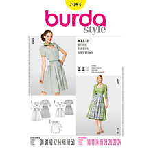 Buy Simplicity Burda Dirndl Dresses Sewing Pattern, B7084 Online at johnlewis.com