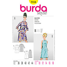 Buy Simplicity Burda 1960s Dresses Sewing Patterns, B7114 Online at johnlewis.com